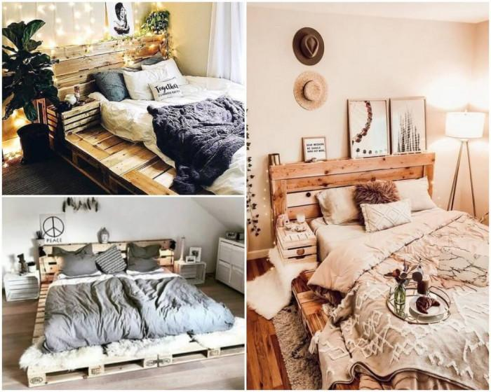 Ново легло от стари палети