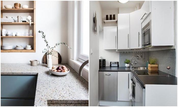 Превърнете терасата си в малка и кокетна кухня