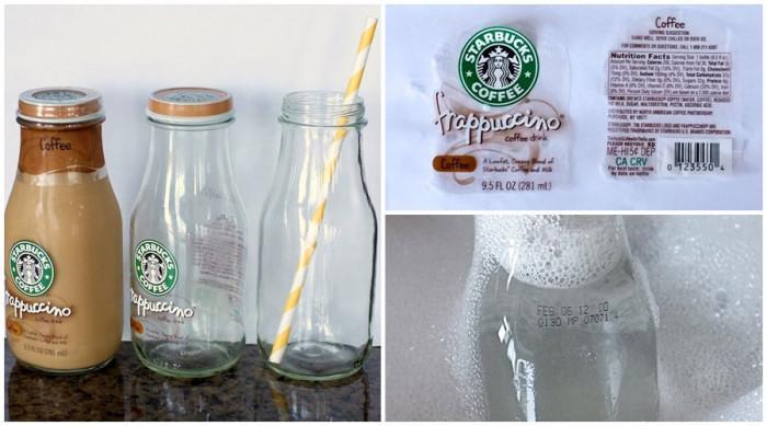 Сбогувайте се с досадните лепкави етикети от стъклените чаши и бутилки
