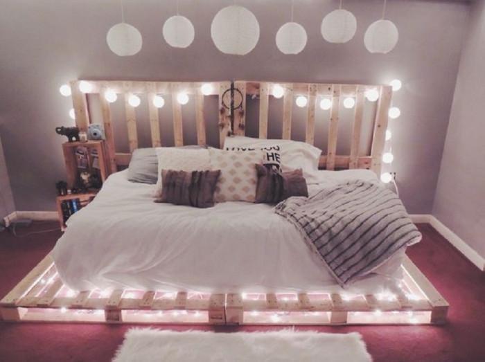 Леглото от палети е класика в жанра!