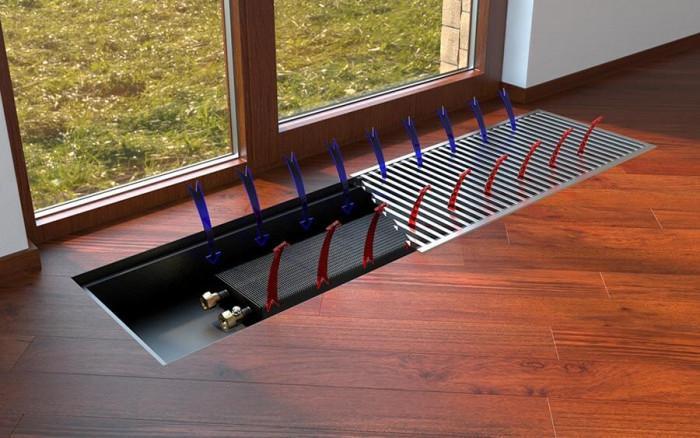 Подовите конвектори осигуряват неповторим комфорт