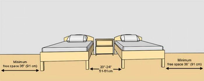 Голяма стая с две легла