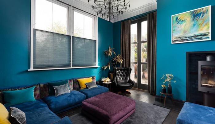 60-те властват в синьо великолепие в дневната