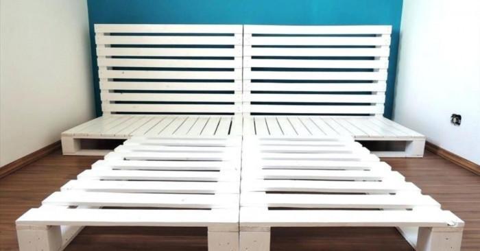 Интересни идеи за мебели от палети, които можете да си направите сами