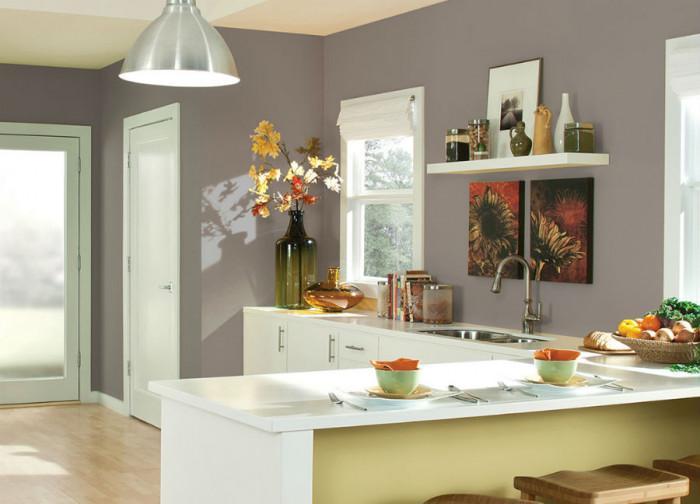 Правилният цветови избор за кухнята