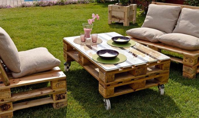 Направете си сами пълно обзавеждане за градината