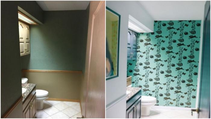 Банята се наслаждава на освежената си визия. А вие кога планирате да се радвате на мечтания си дом?