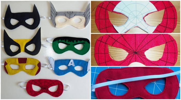 Всеки малък супергерой трябва да има впечатляваща маска