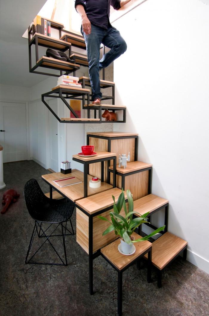 Защо да не поработим и на стълбите?
