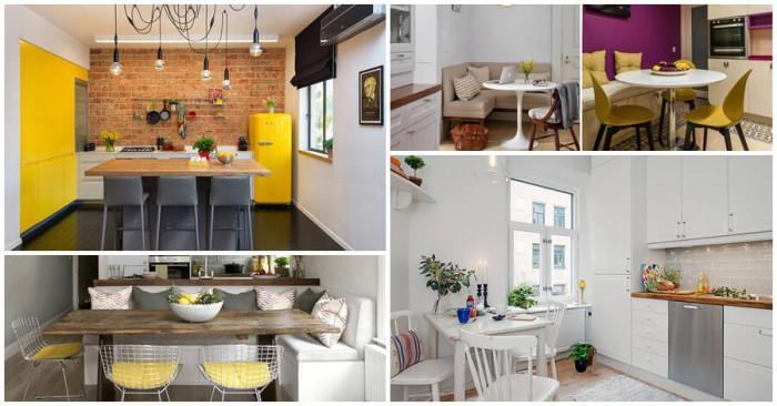Как да създадем удобна и функционална зона за хранене в кухнята?