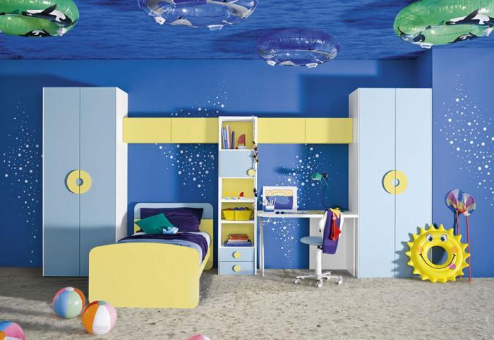 С тази детска стая навлизаме директно в дълбоки води