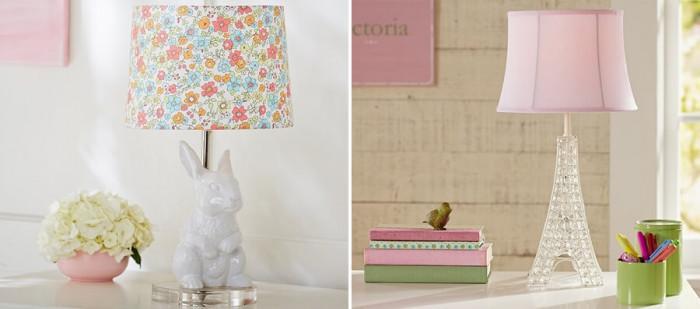 Детски лампи с изтънчено осветление за малки принцеси