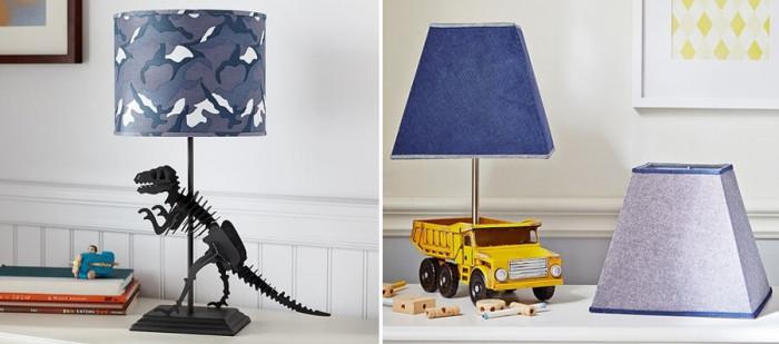 Креативни настолни детски лампи за момчета