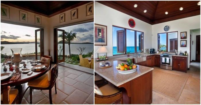 Кухня и трапезария с великолепна гледка