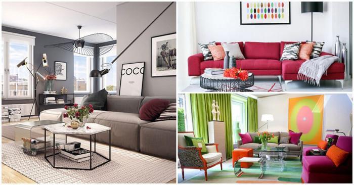 Впечатляващи цветови комбинации за по-свежа и приветлива дневна