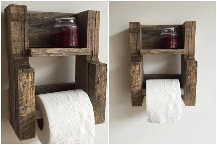 Компактна поставка за стена, която ще се превърне в закачлив завършек към дизайна на банята