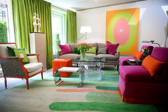 Палитра от свежи цветове създава неподражаем стил у дома