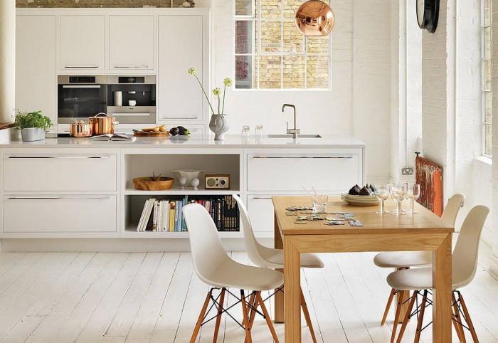 Обединете кухнята и трапезарията