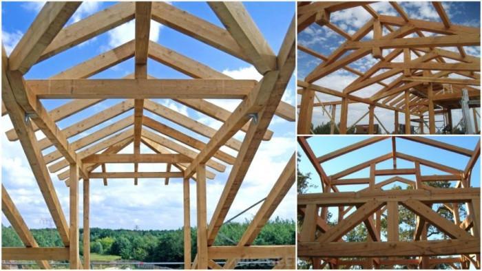 Как се изчисляват дървените покривни конструкции?