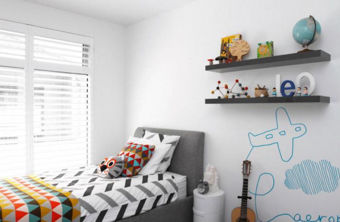 5 сладки и евтини начина да внесете цвят в детската стая