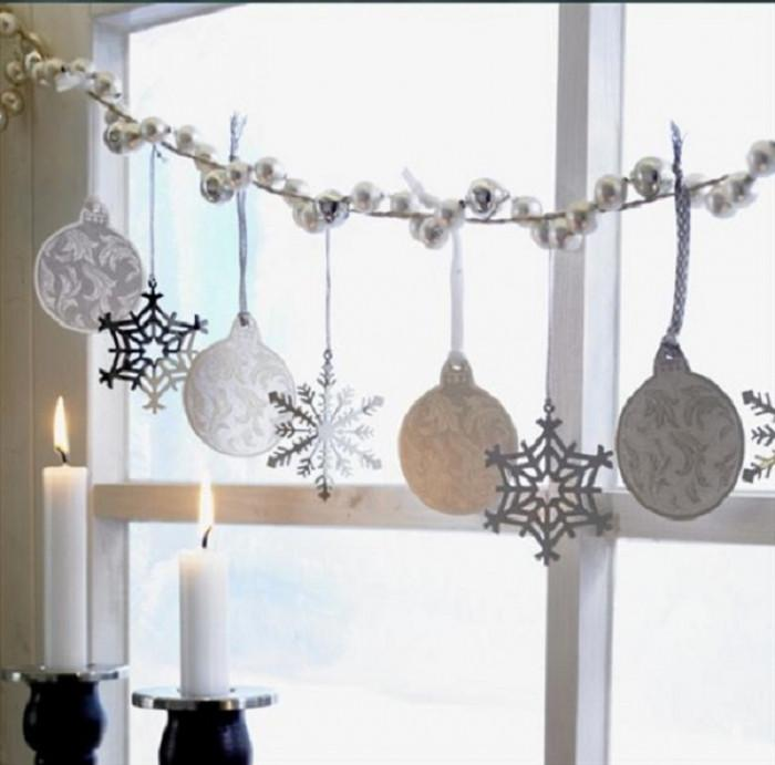 8. Коледни прозорци
