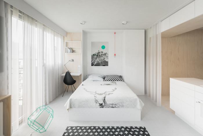 Изненадващо преобразяване на дневната в спалня