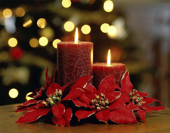 6. Коледни свещи