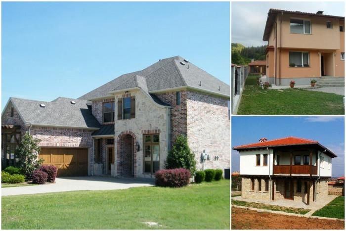 Кои са най-подходящите фасади за дома?