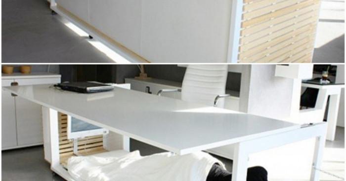 Бюро и легло в едно или как да прекараме нощта на работа