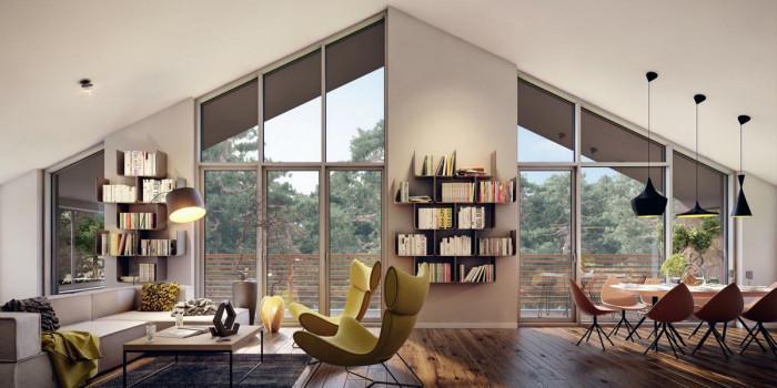 Избирайте мебелите пропорционално на пространството