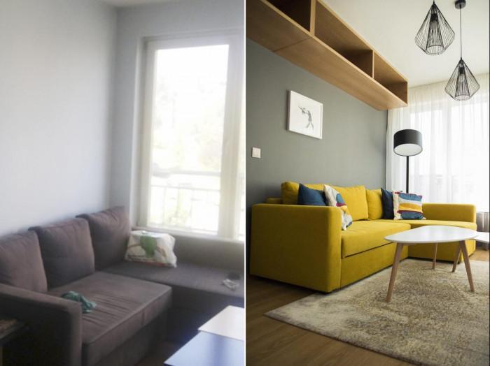 Дневната преди и след
