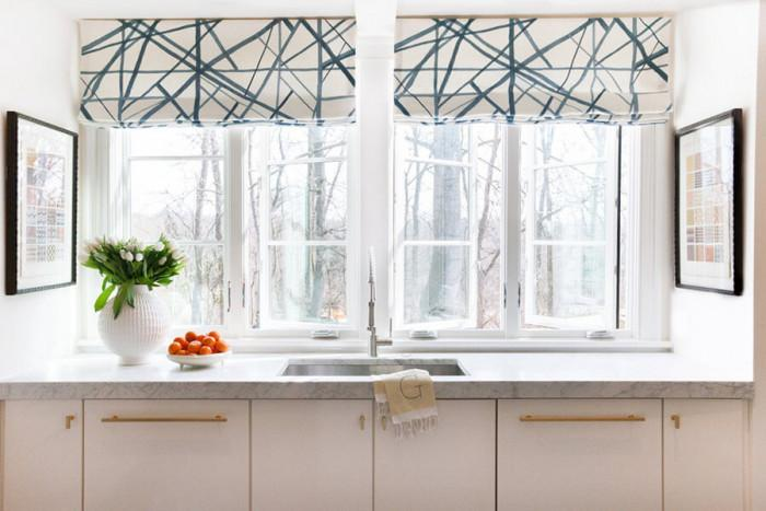 Погрижете се за прозорците в кухнята