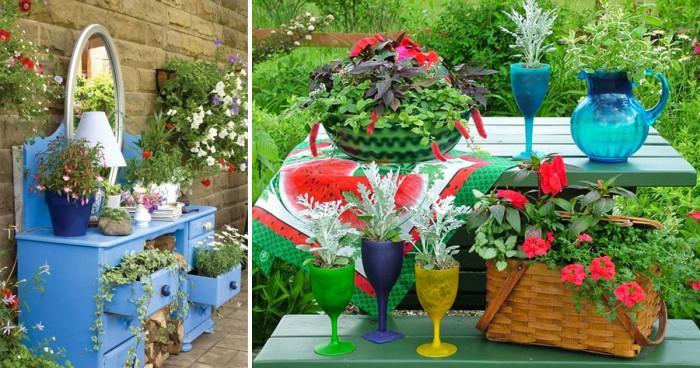 Декорацията – творческо удоволствие и в градината