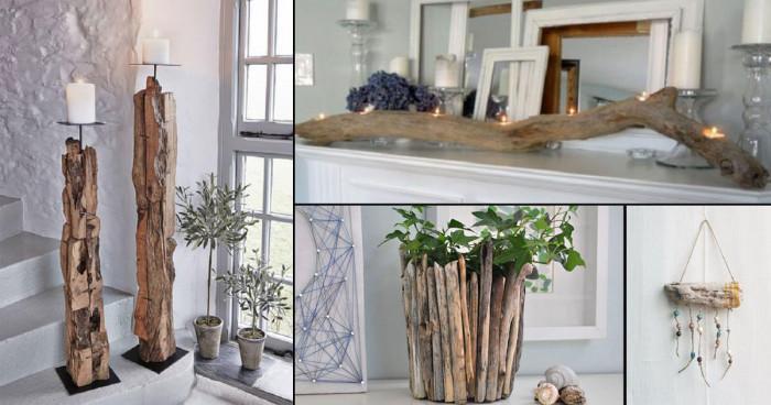 Няколко предложения как сами с клони и дървета да приближите интериора си към природата