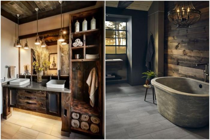 Винтидж мебели за стилна баня