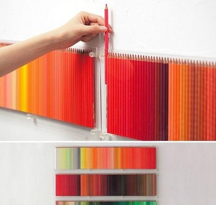 Креативно приложение на цветните моливи