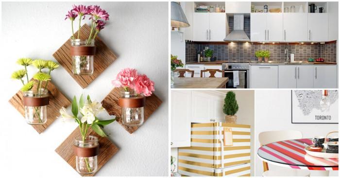 Елегантни декорации за една по-красива и приветлива кухня