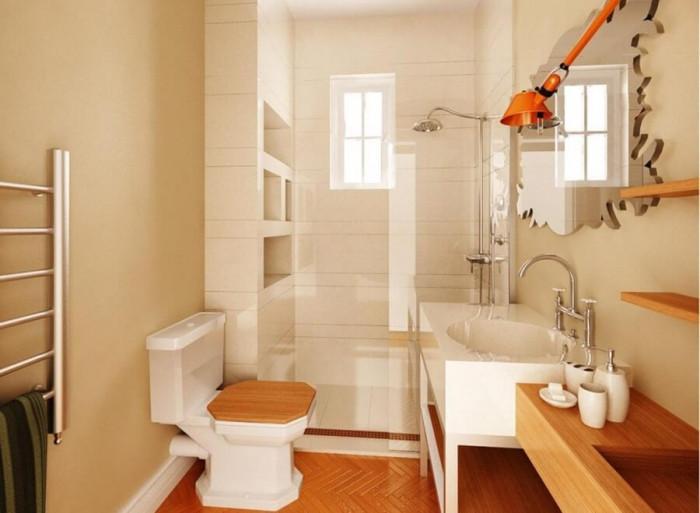 Не изолирайте банята от останалите стаи