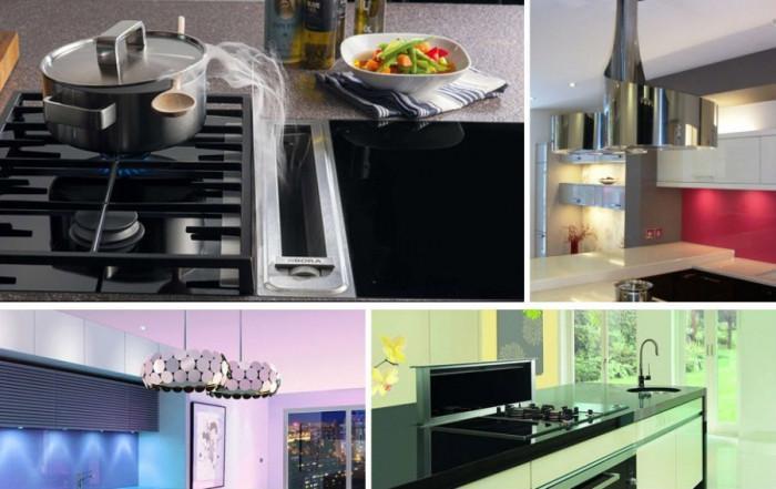 Елегантни абсорбатори за модерни кухни