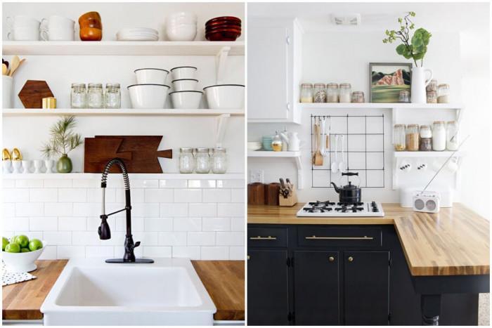 Добавете чаровни детайли по кухненските рафтове