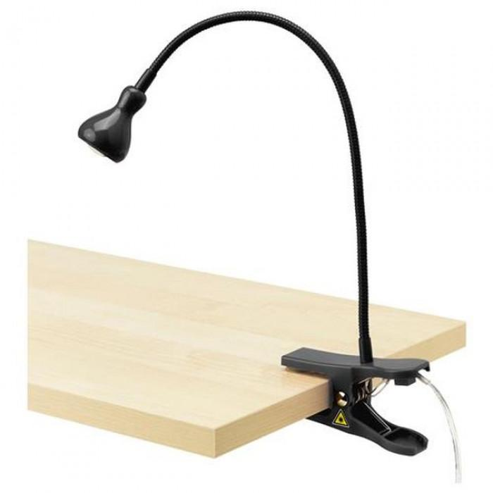 Мобилна лампа с щипка