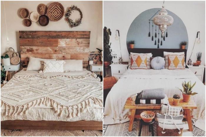 И малката спалня може да се превърне в бохемска приказка!