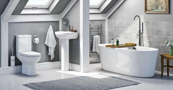 Банята е красива, независимо от квадратурата
