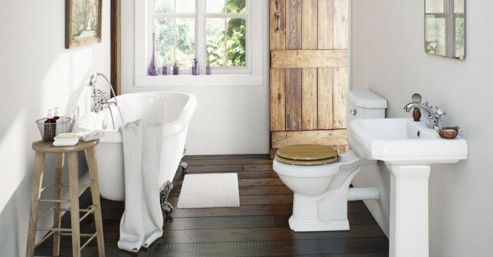 В лятна къща или вила, банята е особено важна