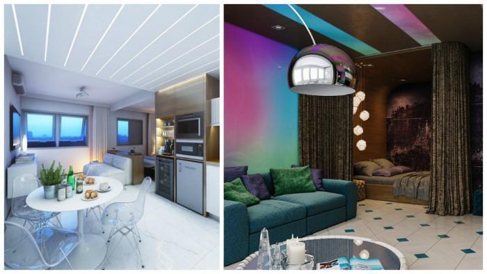 Няколко малки апартамента, които ще ви възхитят със страхотния си дизайн