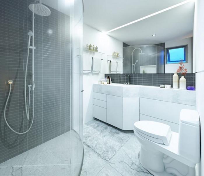 Душ-кабината е перфектен избор за малка баня