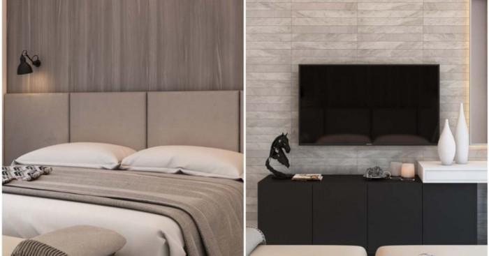 Елегантна спалня в допълваща стилистика