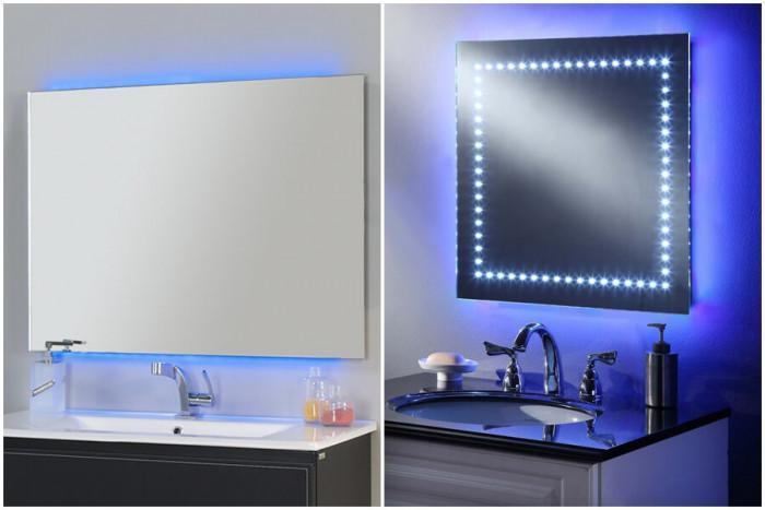 Изумителни огледала за баня с вградено осветление