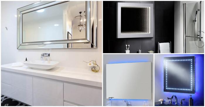 Изберете подходящи огледала за баня
