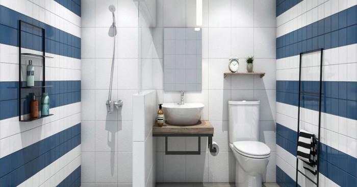 Малка промяна в цвета изменя съществено банята